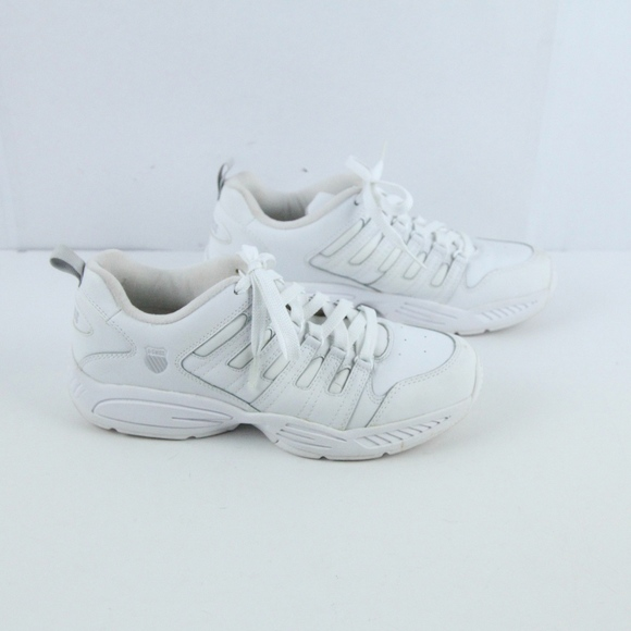 K Swiss Dad Shoes White Sneakers